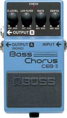 BOSS - CEB-3 | Bass Chorus