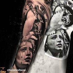"""Polubienia: 1,469, komentarze: 3 – @the.best.tattoo.page na Instagramie: """"Spectacular TATTOO BY @chicomorbene !! ________________________ #tattooart #татуировка #tatu…"""""""