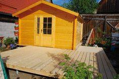 Staviame záhradný domček - 3. časť: Drevená terasa