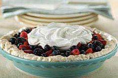 Walnut Meringue Pie