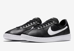 #sneakers #news  The First Low-Top Basketball Shoe In Nike History Is Releasing In Black