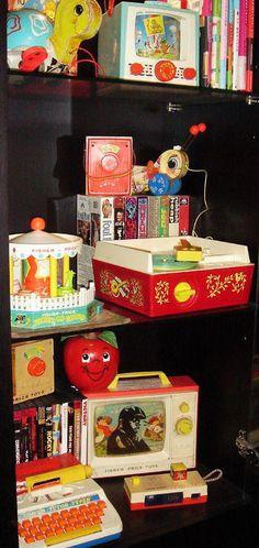 Vintage Toys, Super Heros and Birthdays! - Jennifer Perkins Vintage Toys, Super Heros and Birthdays! Jouets Fisher Price, Fisher Price Toys, Vintage Fisher Price, My Childhood Memories, Childhood Toys, Cabbage Patch Kids, Today Is My Birthday, 80s Kids, Retro Toys