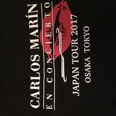 Carlos Marin concert in Japan