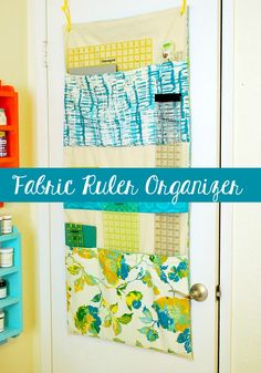 Fabric Ruler Organizer - The Silly Pearl
