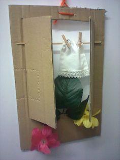 ropa en la ventana