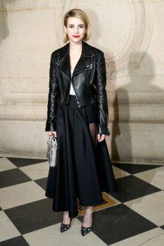 Emma Roberts in Dior at Dior