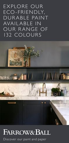 Discover our deeper, richer colours in an eco-friendly water base, plus high-performance finishes to transform your home inside and out. Home Decor Kitchen, Kitchen Interior, New Kitchen, Home Kitchens, Kitchen Craft, Interior Livingroom, Kitchen Ideas, Luxury Homes Interior, Home Interior Design