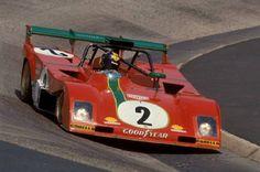 Carlos Pace shared the No.2 Ferrari 312 PB with Arturo Merzario