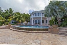 Williams² Cayman Islands Real Estate - SOUTH SOUND OCEAN FRONT HOME Ocean Front Homes, Caribbean Homes, Cayman Islands, Property For Sale, Real Estate, Mansions, House Styles, Home Decor, Decoration Home