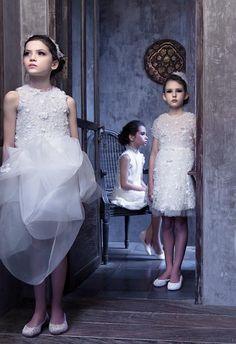Little White - Flower girls dress | Mischka Aoki