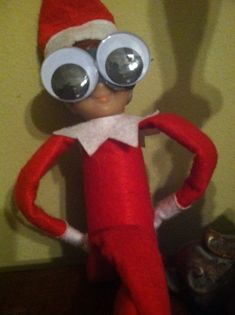 Funny Elf on the Shelf..