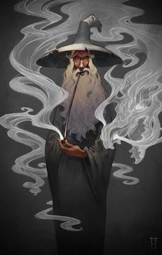 Gandalf Stormcrow by Victor Maury (He's in my anthropology class! The artist, not Gandalf) Gandalf, Character Art, Character Design, Bild Tattoos, Fantasy Illustration, Digital Illustration, Deviant Art, Illustrations, Middle Earth