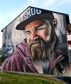 Smug street art