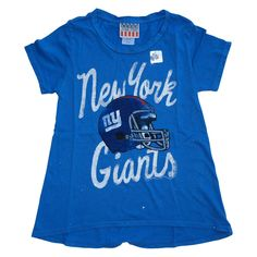 04e8244e5590 Izzy And Ash - junk food clothing girls new york giants liberty glitter tee