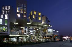 Designed by Dutch architect John Kormeling, the Shanghai Expo 2010 Dutch Pavilion was titled Happy Street.