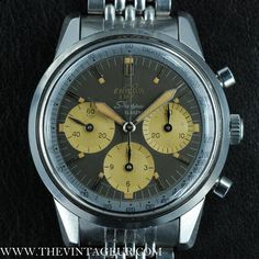 Enicar – Sherpa Graph – Chronograph – Stirling Moss – The Vintageur Stirling, Mk1, Vintage Watches, Omega Watch, Chronograph, Mario, Men Watch, Antique Watches, Star Ring