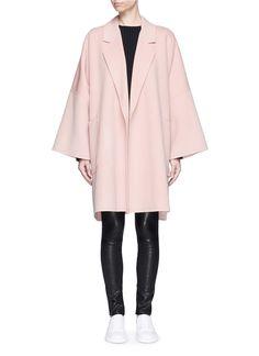 Helmut Lang | 'Cape' oversize double face wool-cashmere coat