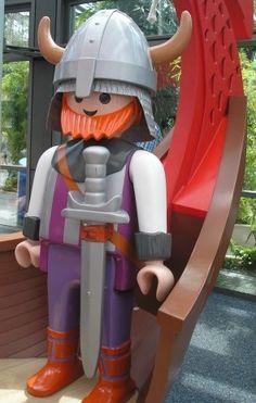 Playmobil géant - Homme Viking - 2002 - Boîte 31??