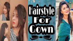 Hairstyles For Gowns, Hairstyle Names, Elegant Hairstyles, Latest Hairstyles, Easy Hairstyles, Girl Hairstyles, H Style, New Hair, Told You So