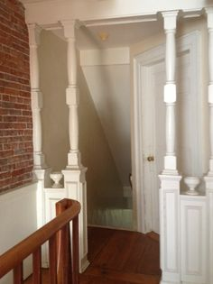 These columns will also be restored during this remodeling project in Newburyport