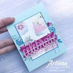 Crafty Little Peach: Cake Soirée Birthday Card Set Wedding Best Wishes, Best Wishes Card, Stampin Up, Birthday Blast, Paper Craft Making, Little Peach, Beautiful Handmade Cards, Scrapbook Cards, Scrapbooking