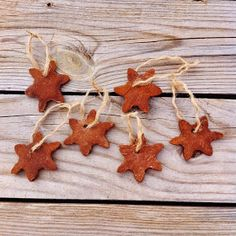 It's Always Sonny: Homemade Cinnamon Christmas Ornaments