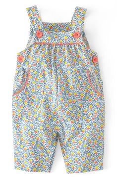 Mini Boden Print Jersey Overalls / (Baby Girls) available at Nordstrom Mini Boden, Free Clothes, Doll Clothes, Babies Clothes, Children Clothes, Babies Stuff, Little Girl Fashion, Kids Fashion, Toddler Outfits