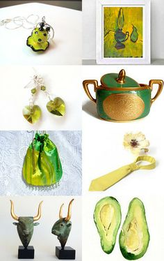 ★Etsy's Choicest Greens★ by Alice on Etsy--Pinned with TreasuryPin.com