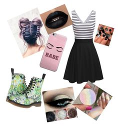 """Untitled #15"" by elladum on Polyvore featuring Dr. Martens"