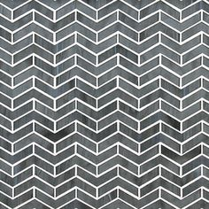 Ann Sacks Chrysalis chevron herringbone mosaic tile - comes in other colors