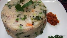 Rava upma, sooji upma  --  a popular breakfast recipe in south India.  It has very simple ingredients, can be done real quick and is not heavy on the tummy. You can actually enjoy it at any time of the day or when you are feeling a bit lazy and not up to making a full fledged meal.  #Semolina #rava #indianfood #breakfast #breakfastrecipes #kidsrecipes #upma #quickrecipes