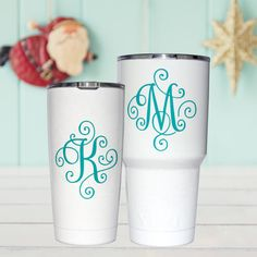 Hey, I found this really awesome Etsy listing at https://www.etsy.com/listing/470148330/yeti-decal-yeti-decal-for-women-monogram