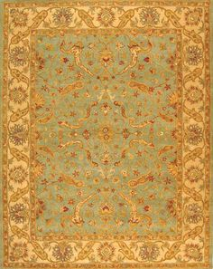 Safavieh Antiquities II AT-311 Teal / Beige (B) Area Rugs
