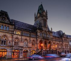"""Winchester Guildhall in the""""blue hour"""" by neilalderney123, via Flickr"""