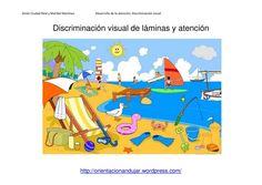 Discriminación visual y atención; Láminas y actividades interactivas