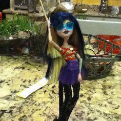 My custom camolia invisabella doll