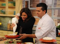 Buddy Valastro's Chocolate Fudge Frosting | Rachael Ray Show