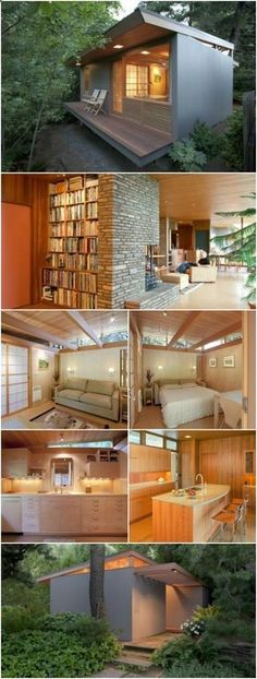 Award Winner Tiny Teahouse by Pietro Belluschi Has Famous Roots and Tons of Style! - In the 1940's, a couple in Portland hired a famous architect, Pietro Belluschi, to build their home and to remodel the existing garden shed into a guest house with Japanese and Scandinavian minimalistic inspirations. The architect loved the end result so much that he bought the home several years later. We can't blame him after seeing how perfect it is!