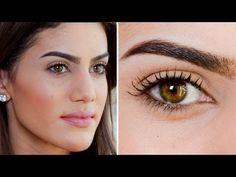 Eyebrow Tutorial by Camila Coelho - YouTube