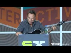 Bruce Springsteen gives creative advice at SXSW festival