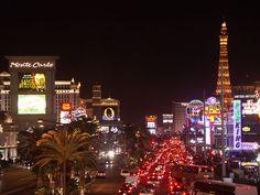 Las Vegas Strip Nightlife Las Vegas