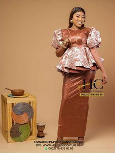African Wear, African Dress, Latest African Fashion Dresses, Basin, My Photos, Marriage, Saree, How To Wear, African