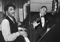 Fats Waller ~ Born Thomas Wright Waller May 21, 1904 in New York, US. Died	December 15, 1943 (aged 39) on a cross-country train near Kansas City, Missouri, US. An influential American jazz pianist, organist, composer, singer, and comedic entertainer, whose innovations to the Harlem stride style laid the groundwork for modern jazz piano, Inducted into the Grammy Hall of Fame posthumously, in 1984 & 1999. Ain't Misbehavin ~ Fats Waller  www.youtube.com/watch?v=1CGACIBZqvI