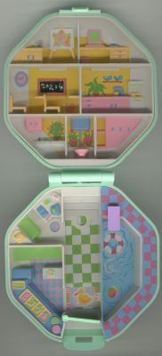 The original Polly Pocket I had in my childhood from 1990, 22 years later I ordered this for my daughter :)