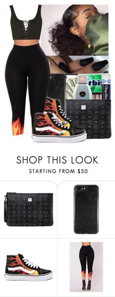 """"" by jasmine1164 ❤ liked on Polyvore featuring MCM, Vans and Topshop"