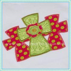 Three Crosses Applique
