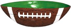Football Serving Bowl Game Day Party House Large Plastic Snack Tray Decoration…