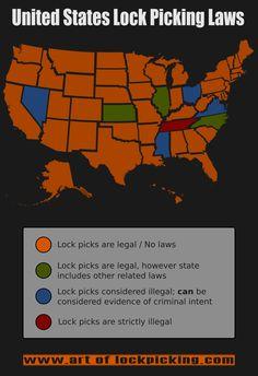 Lock Pick Laws