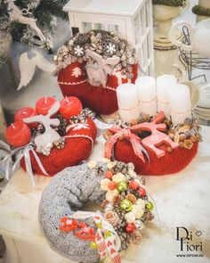Christmas wreaths / Adventi koszorúk
