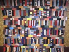 Improv quilt, African American.
